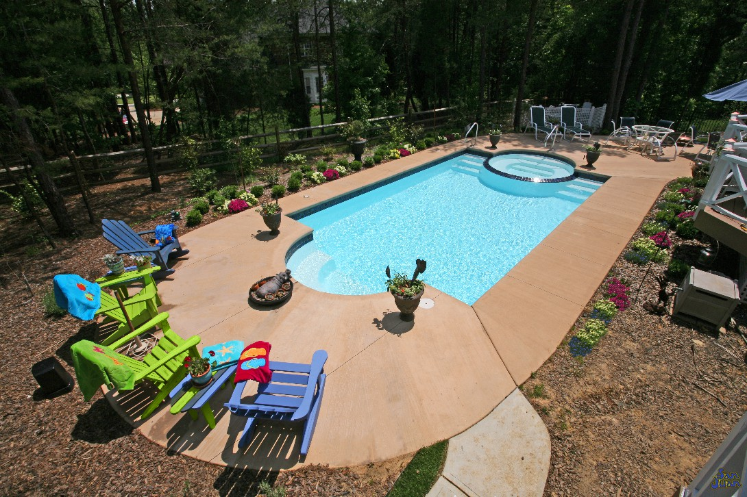 inground fiberglass pools