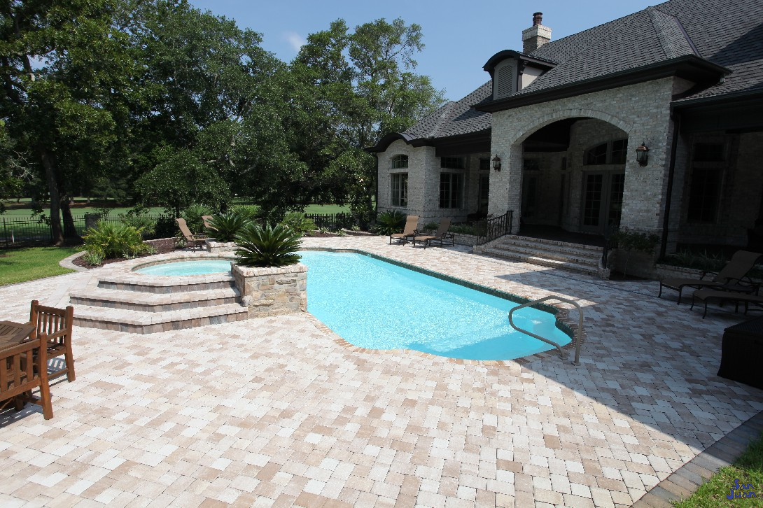 "The Phoenix pool model is a gorgeous fiberglass pool with a flat (sport bottom) design. It's elegant length of 39' 7"" is perfect for allowing your guest to move about, with a comfortable depth and provide a great space to connect."