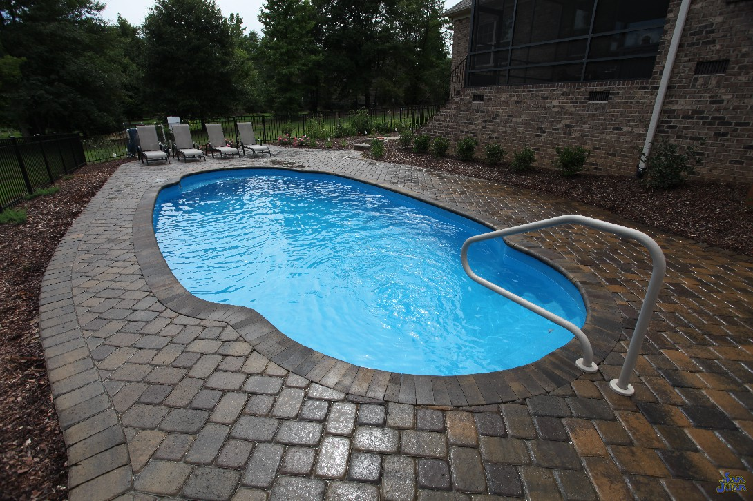 "The compact length of 29' 8"" is perfect for most backyards that have limited yard space. You can select this swimming pool model to create a new outdoor oasis for you and your home!"