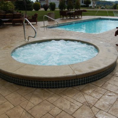The Sarasota Spa is the perfect add-on product to any of our fiberglass pool options! It's radius design is a classic style that will always retain its popularity. If you've always wanted a way to stay warm in the winter and enjoy your backyard, the Sarasota Spa is the perfect solution!