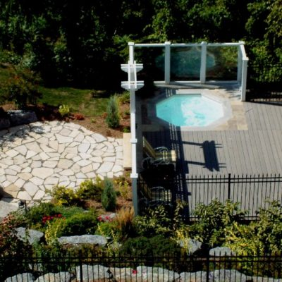 The Haven Spa is our way of providing a beautiful fiberglass spa designed to fit in small spaces. This spa is the perfect accent feature for any of our fiberglass swimming pools and is able to hold up to six bathers!