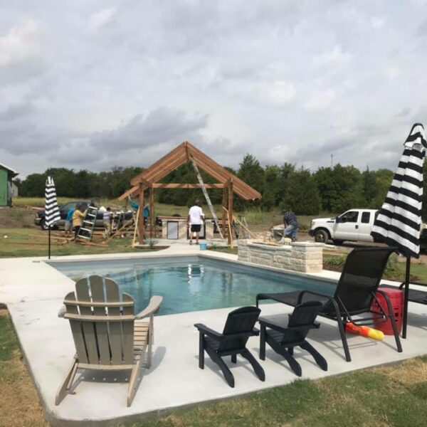 Installation: The Lake Michigan, Van Alstyne TX (Phase #2)
