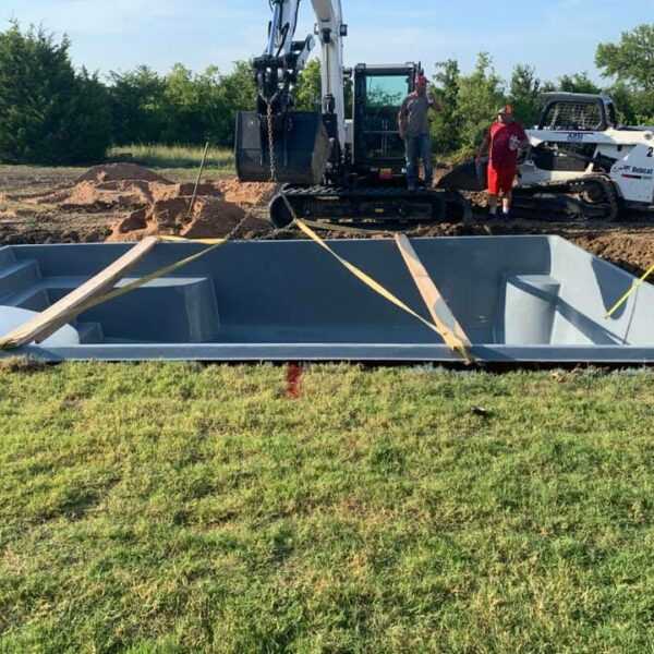 Installation: The Lake Michigan, Van Alstyne TX (Phase #1)